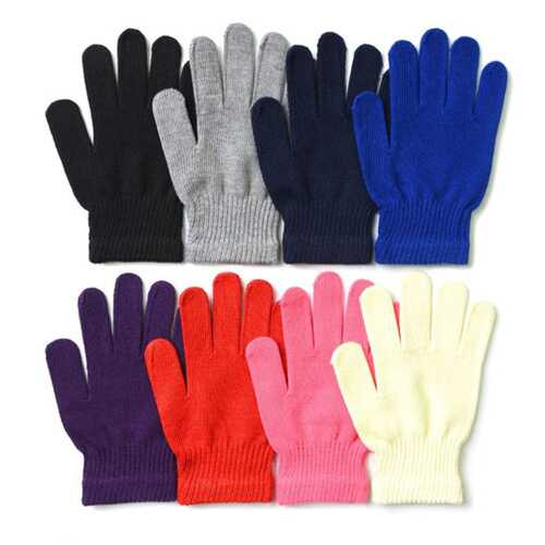 Case of [120] Women's Colorful Magic Gloves