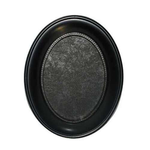 "Case of [18] Plastic Oval Photo Frame - 8""x10"" - Black"