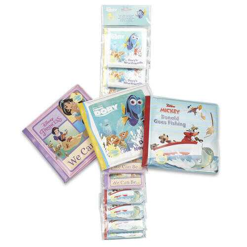 Case of [36] Disney Bath Book - Assorted Titles