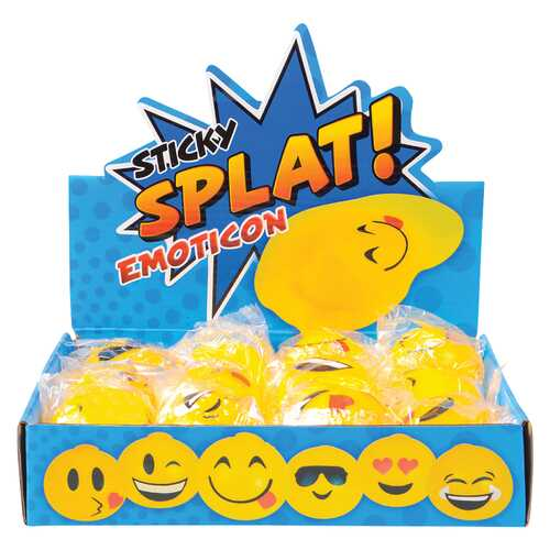 Case of [144] Emoji Splat Toy