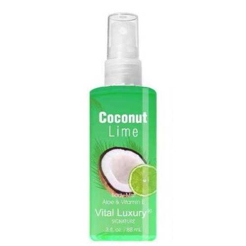 Case of [48] Coconut Lime 3 oz. Body Mist