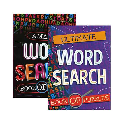 Case of [48] Large Print Find a Word II Puzzles Book