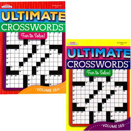Case of [48] Ultimate Crosswords Puzzles