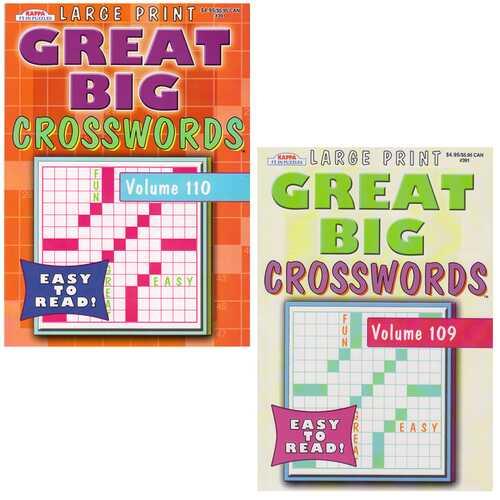 Case of [48] Great Big Crosswords
