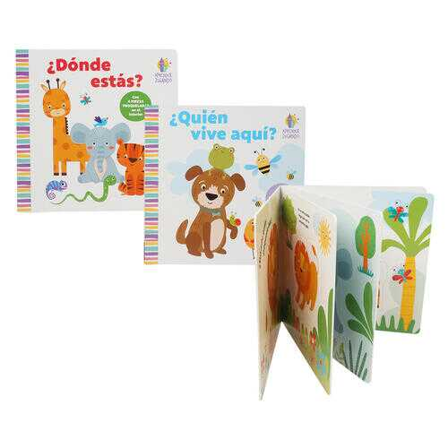 Case of [24] Spanish Story Book with Puzzle - Assorted