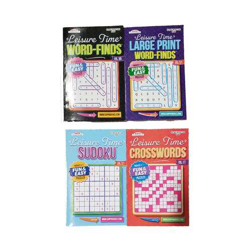 Case of [72] Leisure Time Puzzles Digest Size