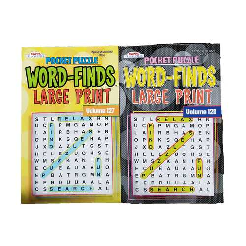 Case of [72] Pocket Puzzle Word Finds