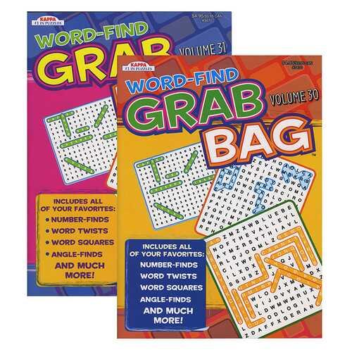 Case of [48] KAPPA Word Find Grab Bag