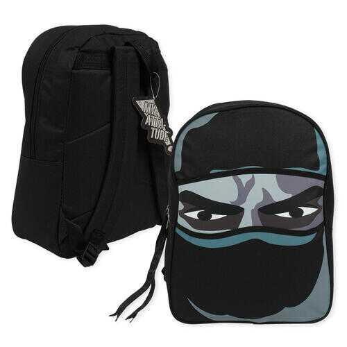 "Case of [12] 16"" Black Ninja Backpack"