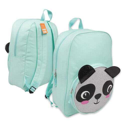 "Case of [12] 16"" Critter Panda Backpack - Aqua"