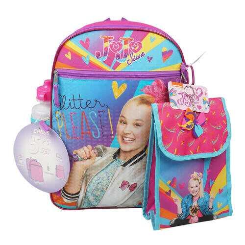 """Case of [12] 16"""" Jojo Siwa Backpack Set - 5 Piece"""