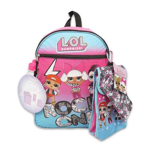 "Case of [12] 16"" LOL Surprise! Backpack Set - 5 Piece"