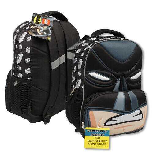 "Case of [12] 16"" Lego Batman Backpack"