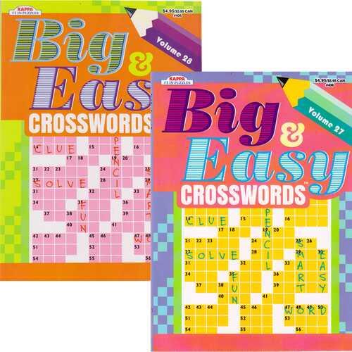 Case of [48] Big & Easy Crosswords