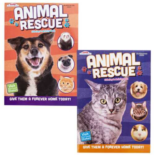 Case of [24] Animal Activity Book - Assorted
