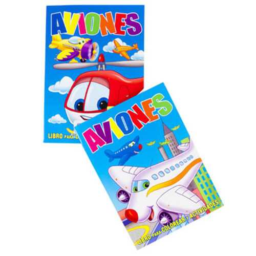Case of [24] Bilingual Activity Book - Assorted