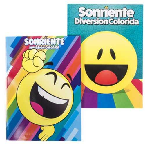 Case of [24] Bilingual Emoji Coloring Book - Assorted