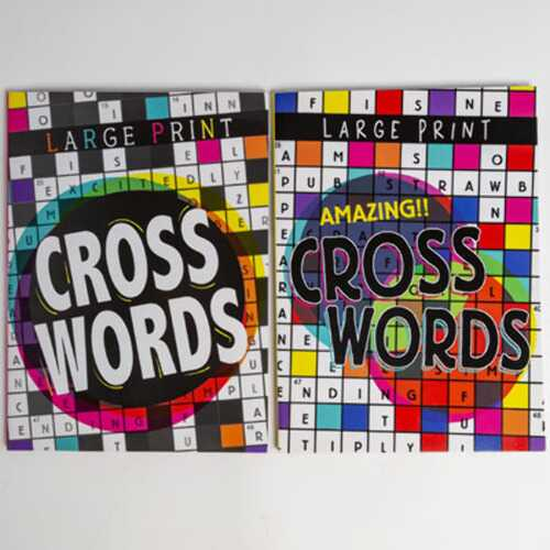 Case of [24] Crossword Puzzle Book - Assorted