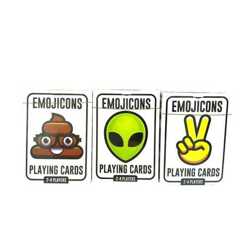 Case of [36] Anker Trendy Emoji Playing Cards