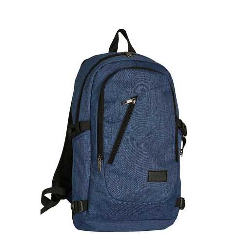 "Case of [12] 17"" Premium Multi-Pocket Laptop Backpack - Blue"