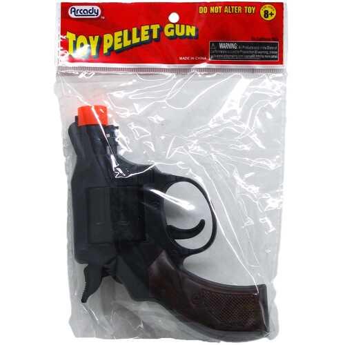"Case of [144] 5"" Toy Pellet Revolver Gun"