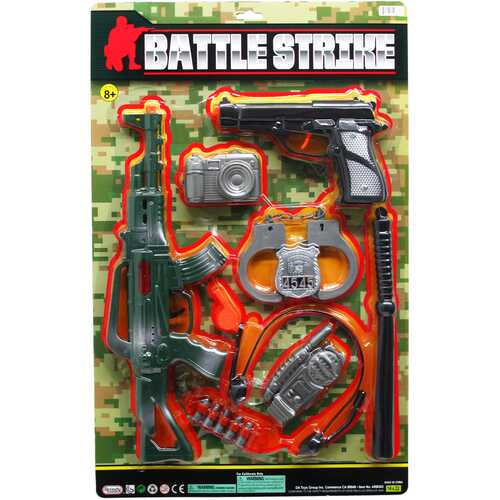 """Case of [12] 15"""" M16 Assault Toy Rifle Military Set"""