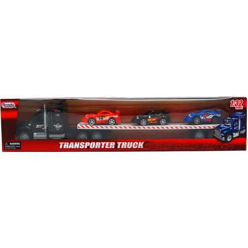 """Case of [12] 22.5"""" Friction Truck with 3 Piece 4"""" Cars - Assorted"""