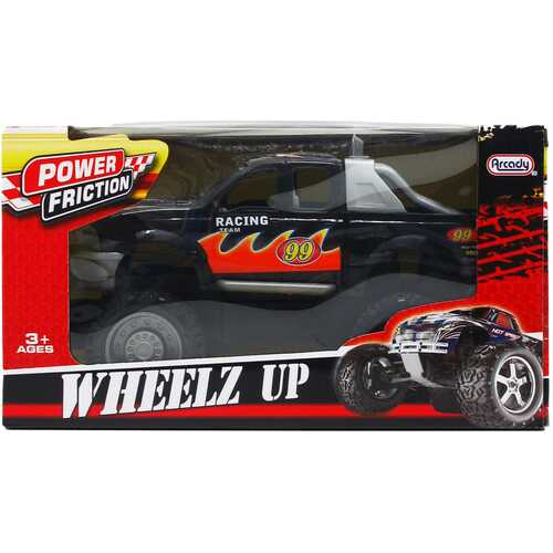 """Case of [12] 10.5"""" Friction Power Monster Truck - Assorted"""