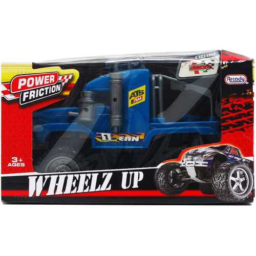 """Case of [12] 10.5"""" Friction Power Tractor - Assorted"""