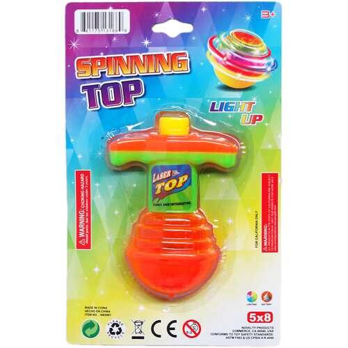 """Case of [72] 4.25"""" Bouncing Top with Light"""