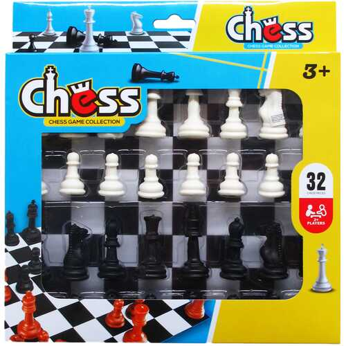 Case of [48] 32 Piece Chess Play Set