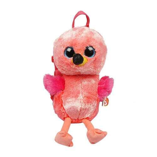 """Case of [12] 13"""" ty Flamingo Plush Backpack"""