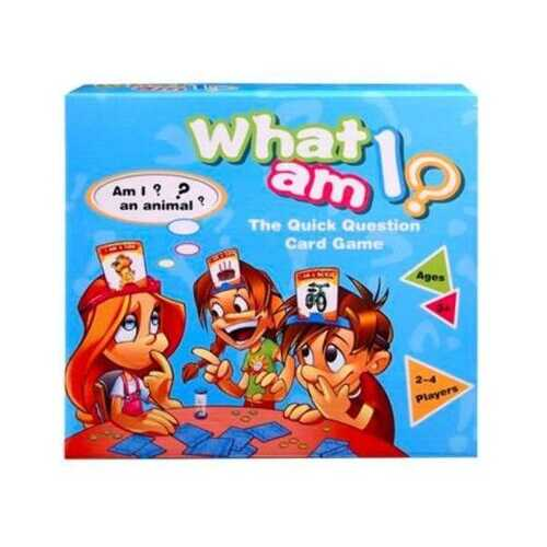 Case of [72] What am I?- Quick Question Card Game