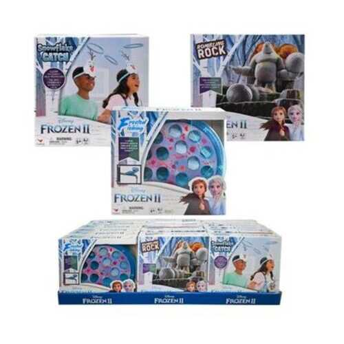 Case of [30] Frozen 2 Three Game Assortment in Display