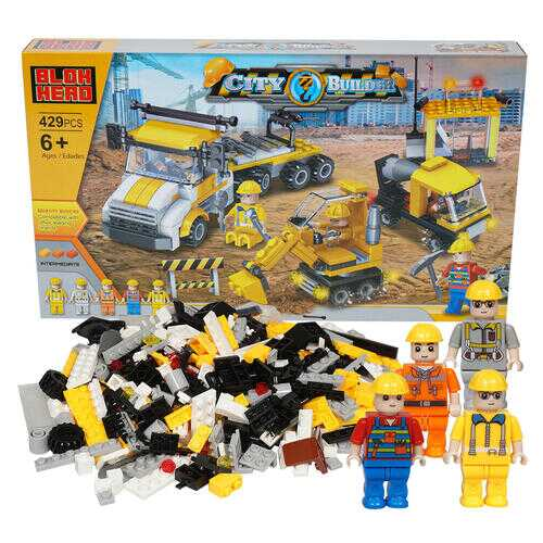 Case of [6] 429 Piece City Builder Building Playset