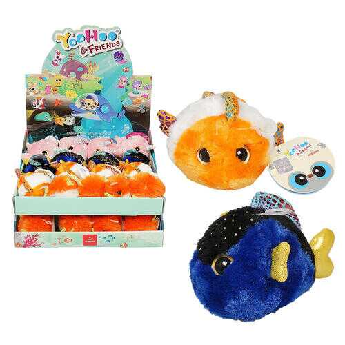 "Case of [64] 3"" Sealife Mini Yoohoo Plush - 4 Assortments"