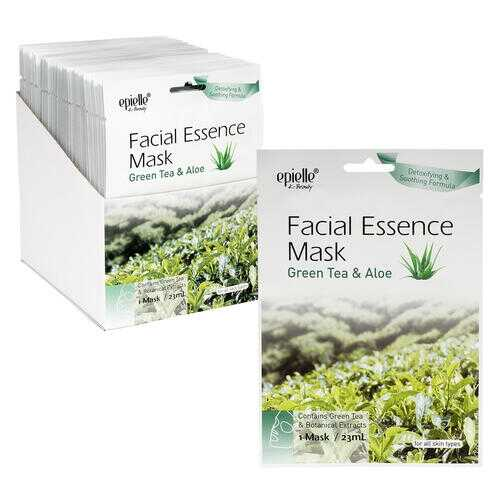 Case of [48] Epielle Green Tea Facial Essence Mask