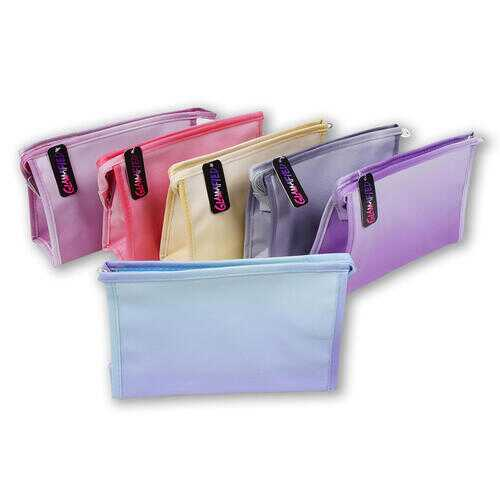"Case of [48] 9"" Gradient Cosmetic Bag - Assorted Colors"