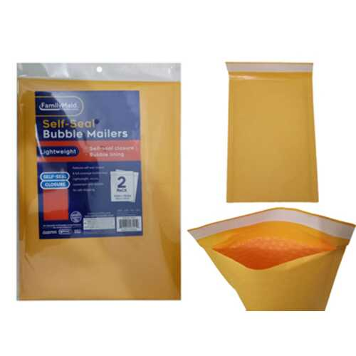 Case of [24] 2PCS BUBBLE MAILERS SELF-SEAL #4