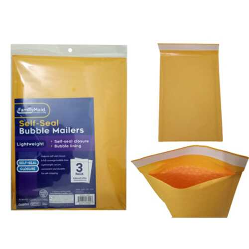 Case of [24] 3PCS BUBBLE MAILERS SELF-SEAL #2