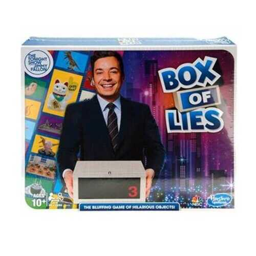 Case of [28] Hasbro The Tonight Show Starring Jimmy Fallon Box of Lies Party Game