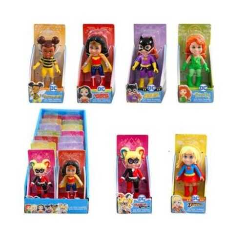 """Case of [126] DC Super Heros Mini Toddlers 3"""" Doll"""