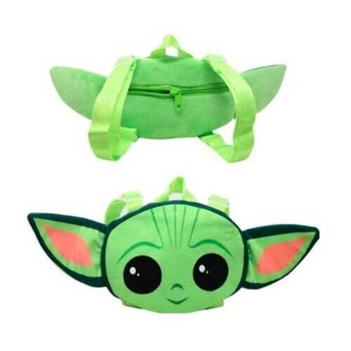 "Case of [32] Star Wars 18"" Baby Yoda Head Shaped Plush Pillow Pack"