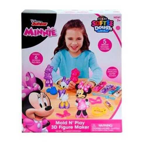 Case of [48] Minnie Softee Dough 3D Figure Maker