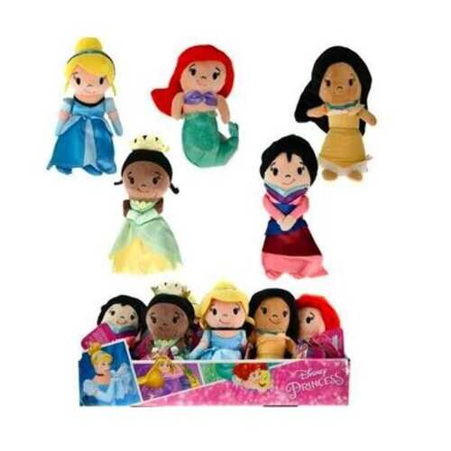 "Case of [72] 6"" Disney Princess Stylized Plush"