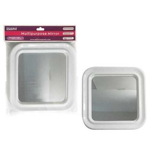 "Case of [24] Square Mirror, 10"" x 10"""