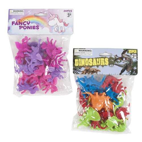 Case of [48] Fancy Ponies & Dinosaur Figures - Assorted