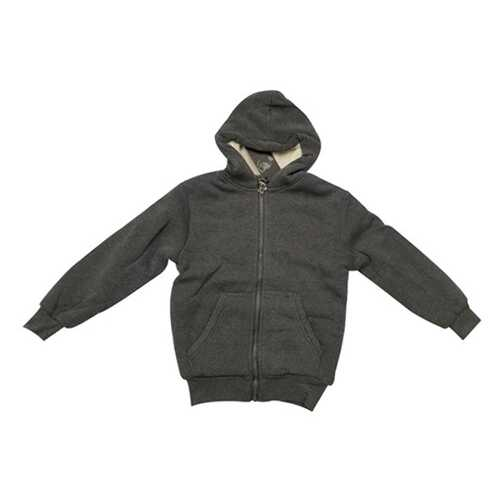 Case of [12] Youth Sherpa Hoodie with Zipper - Oxford Grey