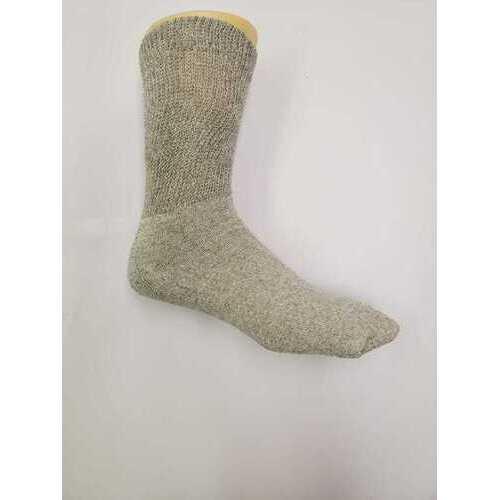 Case of [120] Crew Socks - Grey, 10-13