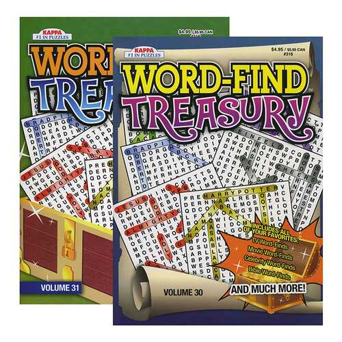 Case of [48] KAPPA Word-Find Treasury